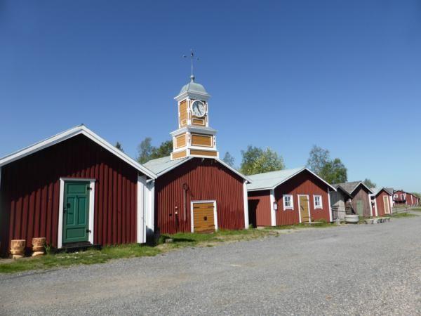 balade dans le village musée...