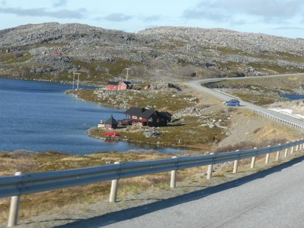 ...encore une vingtaine de kilomètres pour arriver à Gamvik...