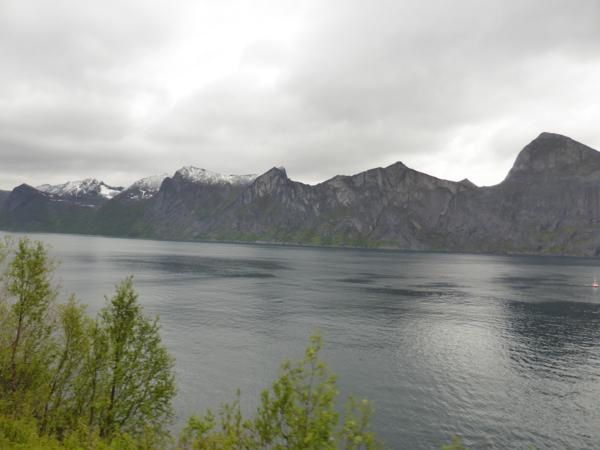 Nous quittons Senja pour revenir à l'intérieur des terres... Andselv, Bardufoss...