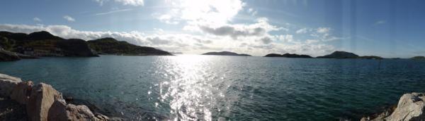 ...en attendant le ferry...