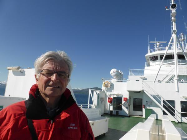 ..;sur le ferry...avec le soleil...