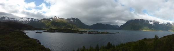 et une belle vue panoramique..