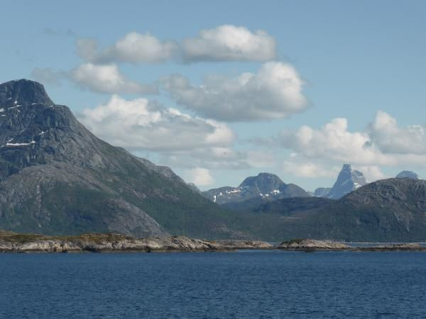 Au départ du ferry, de Lodingen à Bognes... 1 heure de ferry... pour éviter de remonter sur Narvik et faire une centaine de kilomètres...