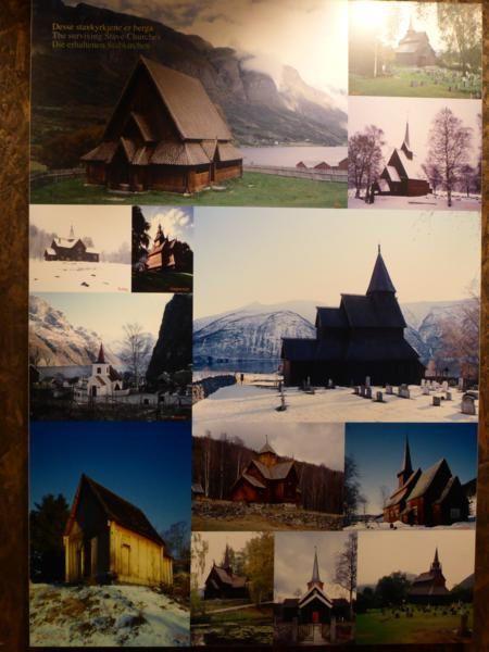 et présentation des églises en bois de Norvège...