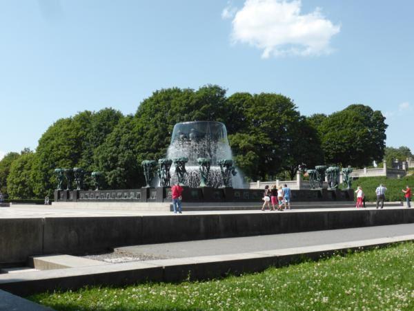 la fontaine monumentale...