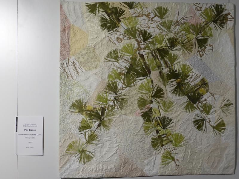 "Elisabeth Nusser-Lampe  ""Pine branch"""