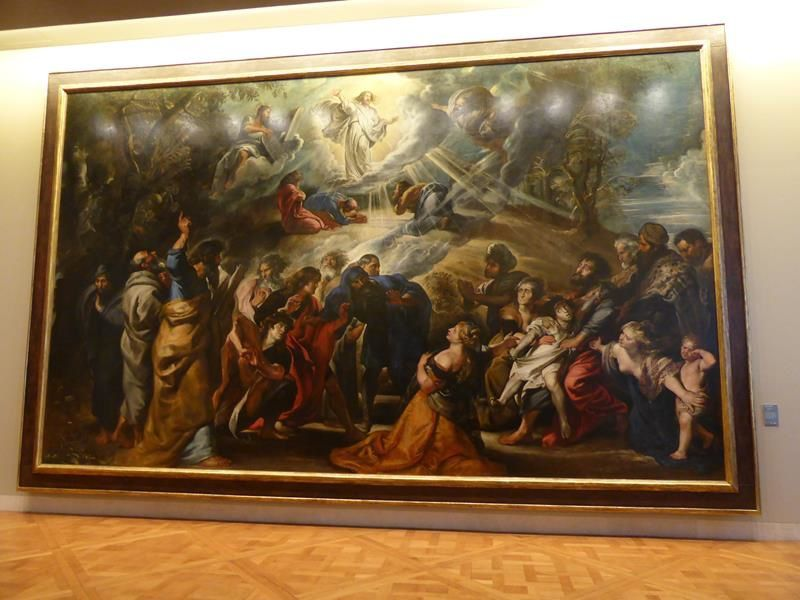 "monumental ! Pierre Paul Rubens ""La transfiguration"""