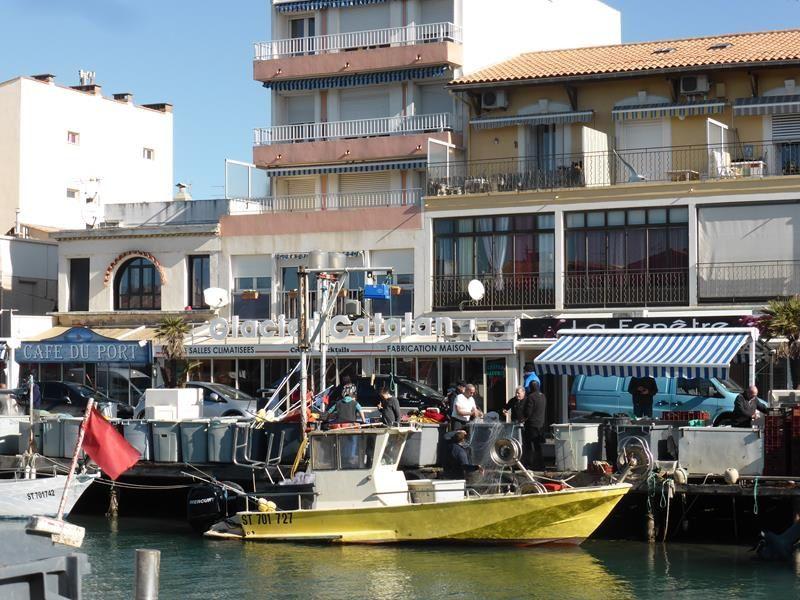 ...retour de pêche dans le petit port de Palavas...
