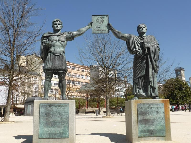 Lugo...fondée par les Romains 14 av. JC