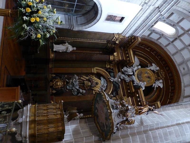 et l'église abbatiale construite en 14 ans au début du XVIII !!!!