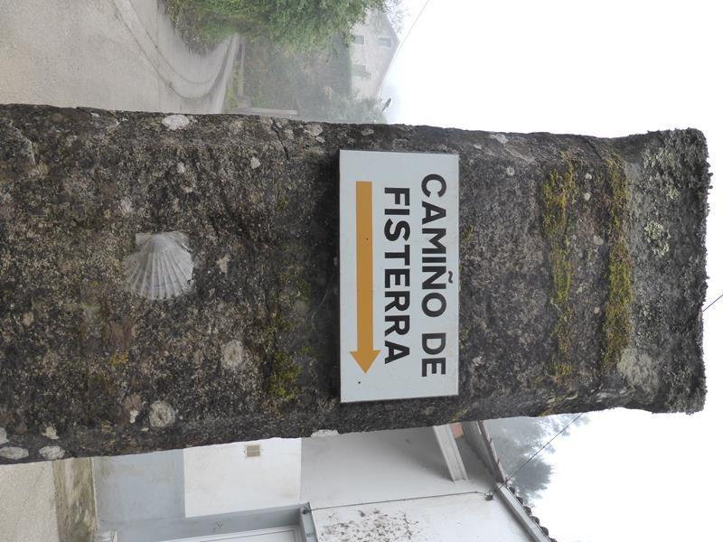..le Chemin de Fisterra est bien balisé...