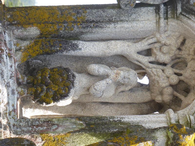 ...en dessous...Adam et Eve, chassés du Paradis....