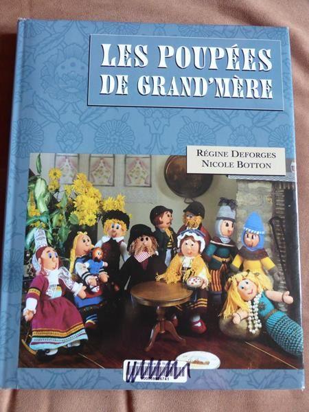 un ouvrage signé Régine Desforges sur les poupées de laine...