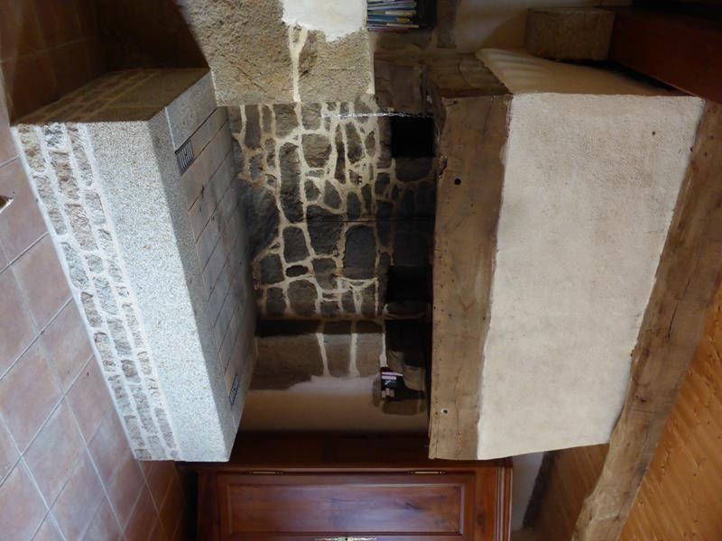 En ce 1er septembre, la cheminée a été bien dégagée...