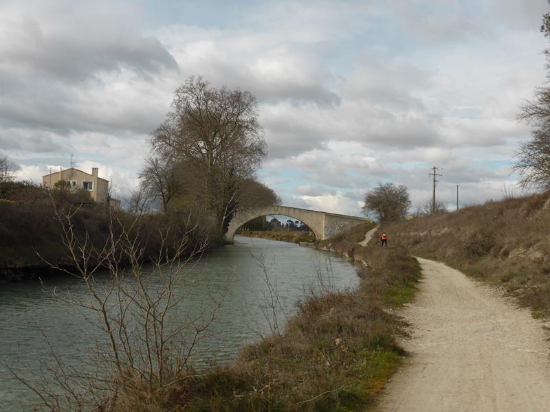 En vélo le long du canal du Midi
