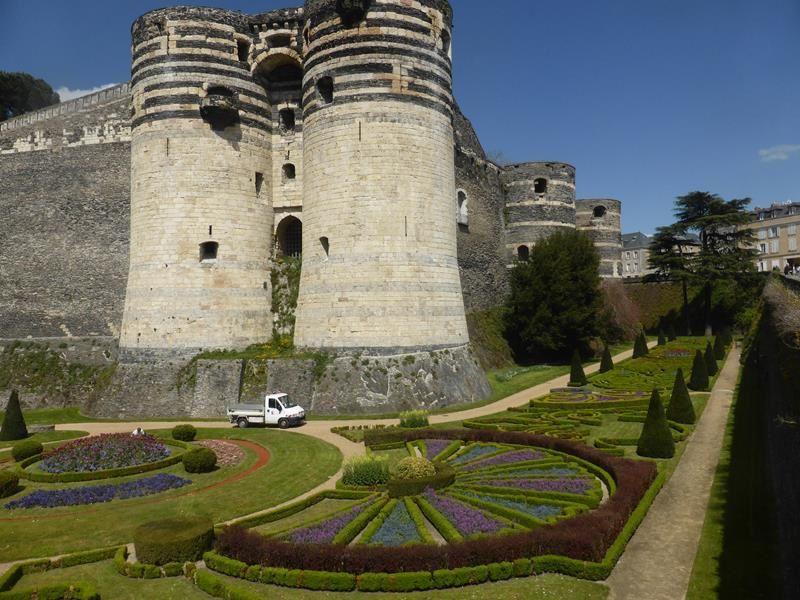 La tenture de l'Apocalypse au château d'Angers