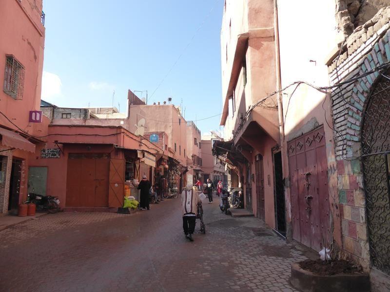 Marrakech..les souks de la Médina...