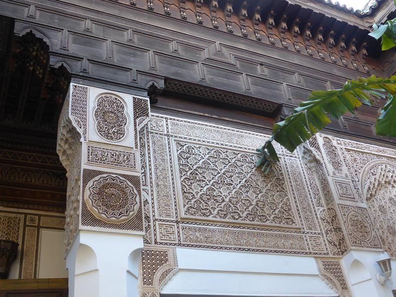 Marrakech...du côté des palais...