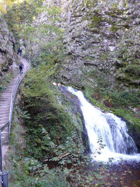 Vers les cascades d'Allerheiligen...