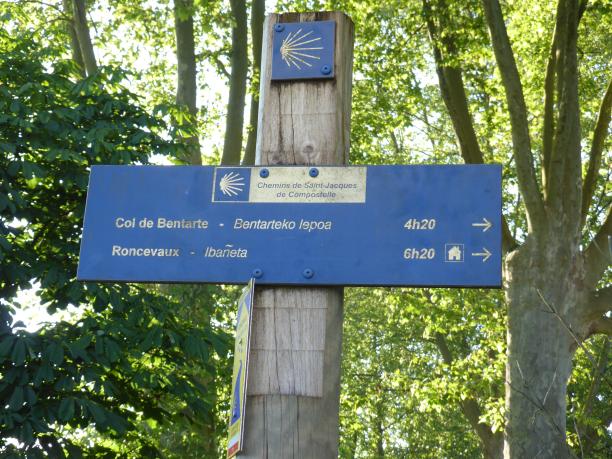 Très optimiste !... notre but sera le refuge d'Orisson à 8 km