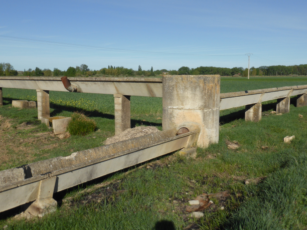 système d'irrigation...encore utilisé ??