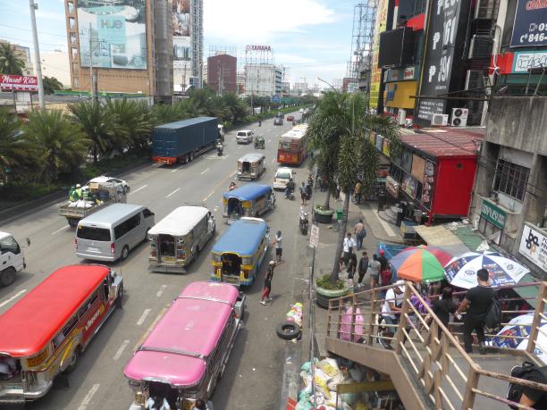 Manille ...en route pour Intramuros