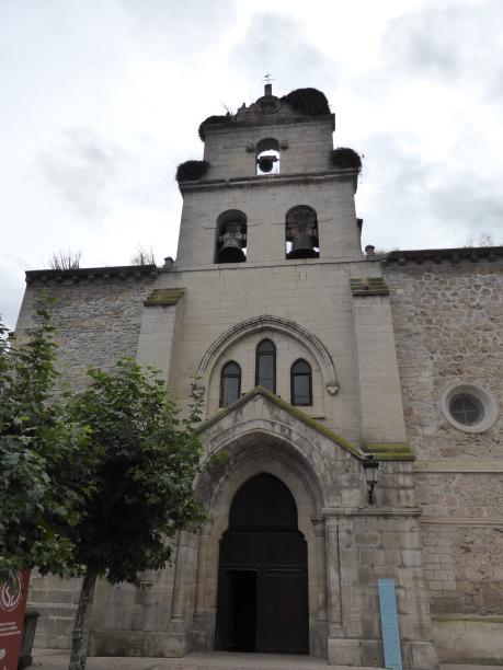 clocher - mur de l'église santa maria