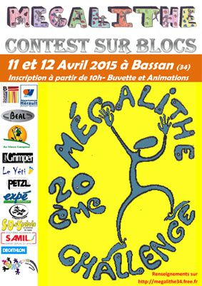 CHALLENGE MEGALITHE 2015