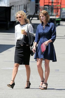 Ashley sur le Set de 'Wish I Was Here' with Kate Hudson