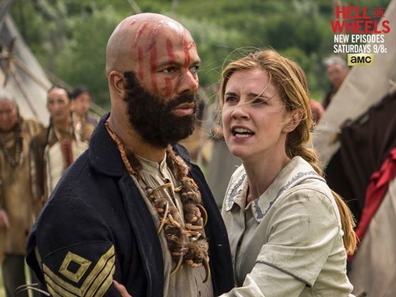 Hell on Wheels avec Sara Canning