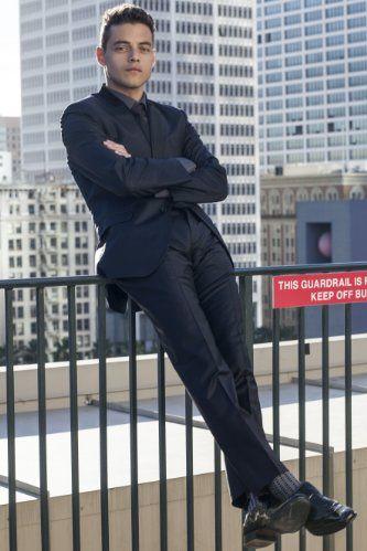 Rami Malek par Riker Brothers