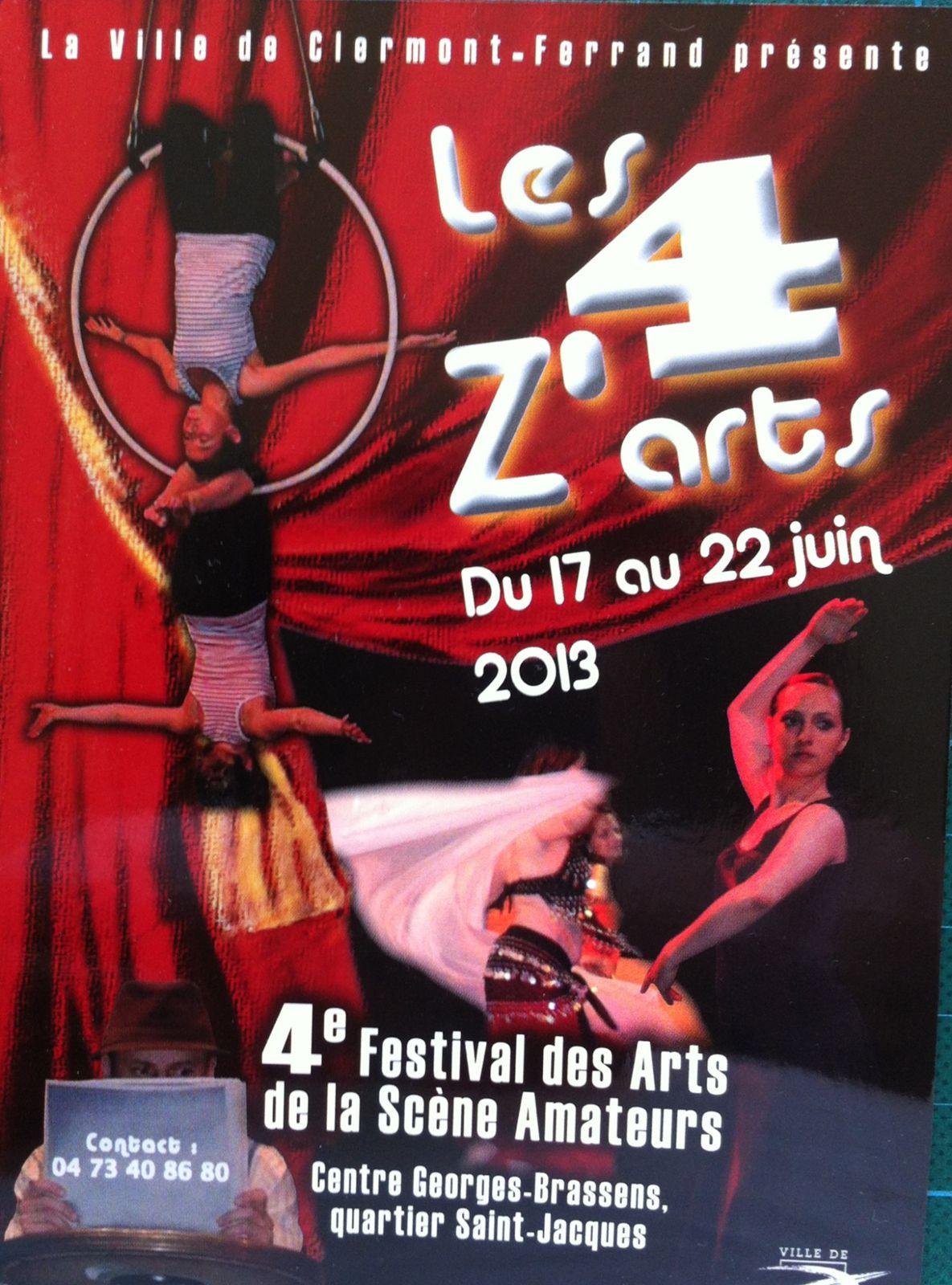 les 4 Z'arts au Centre Georges Brassens
