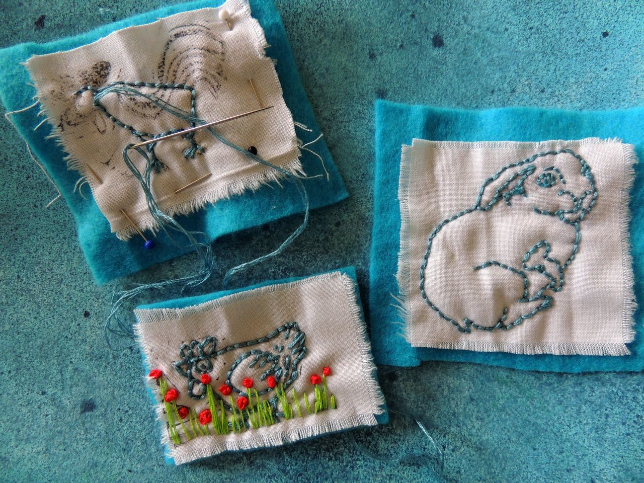 broderie 'on the go'