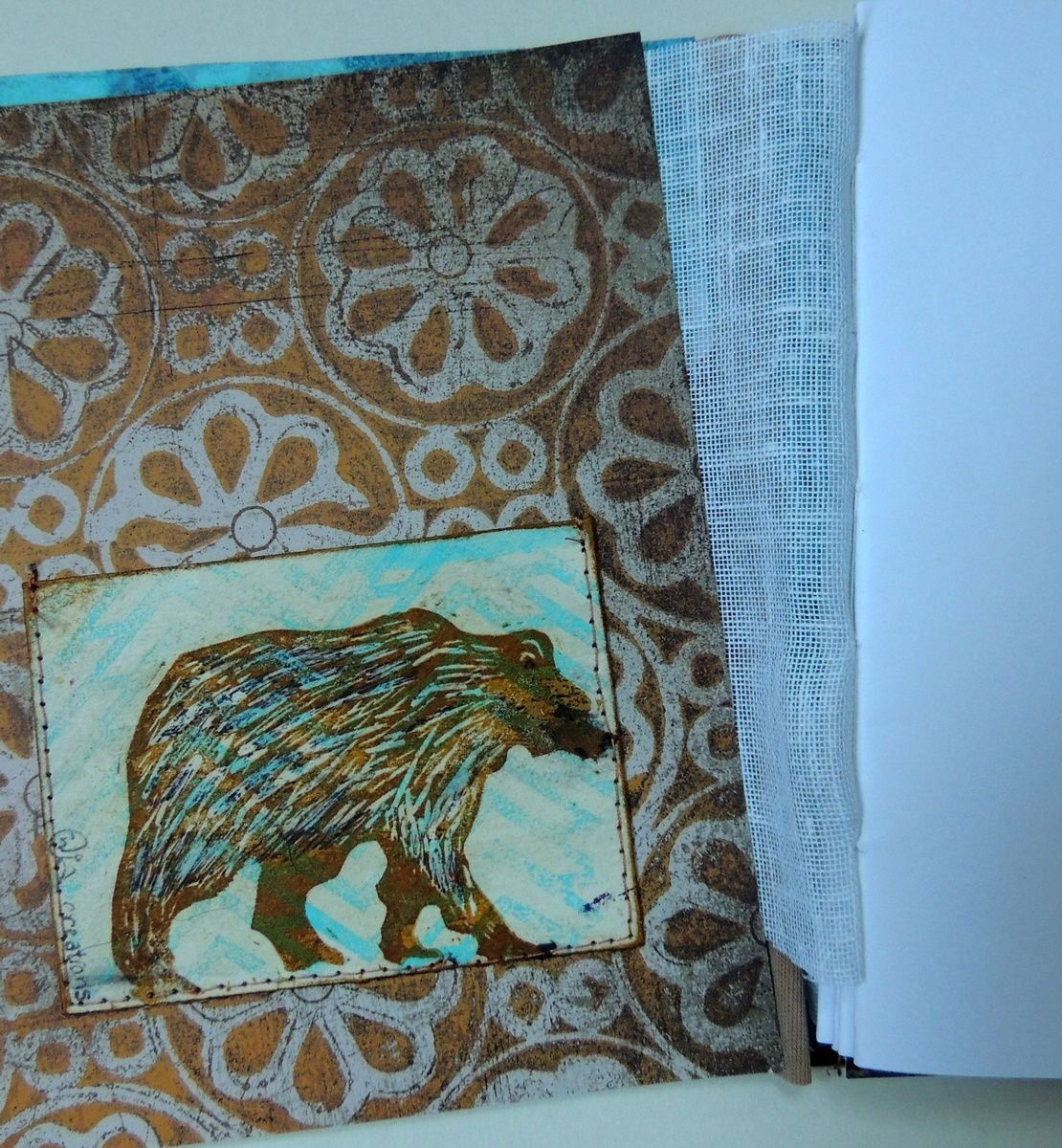 un carnet - white bear brown bear