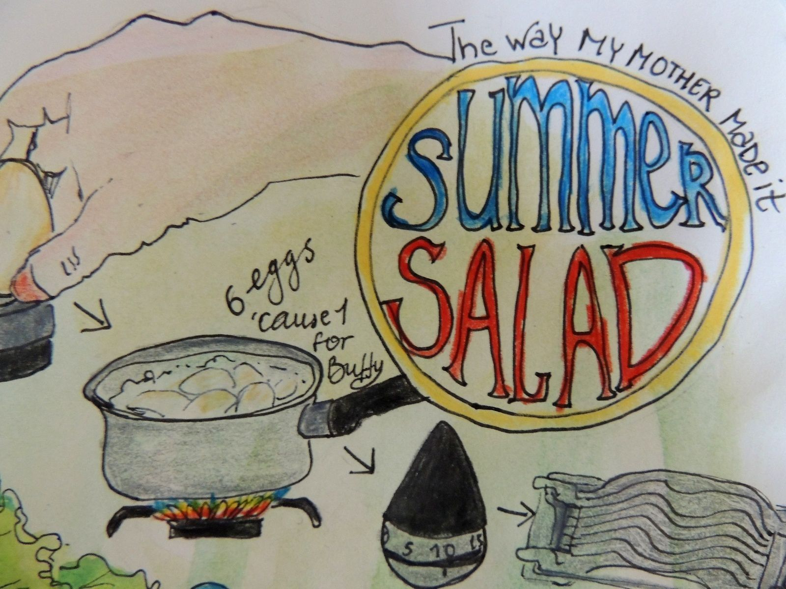 canincule?: - summer salad