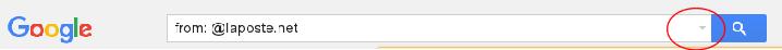 barre recherche gmail
