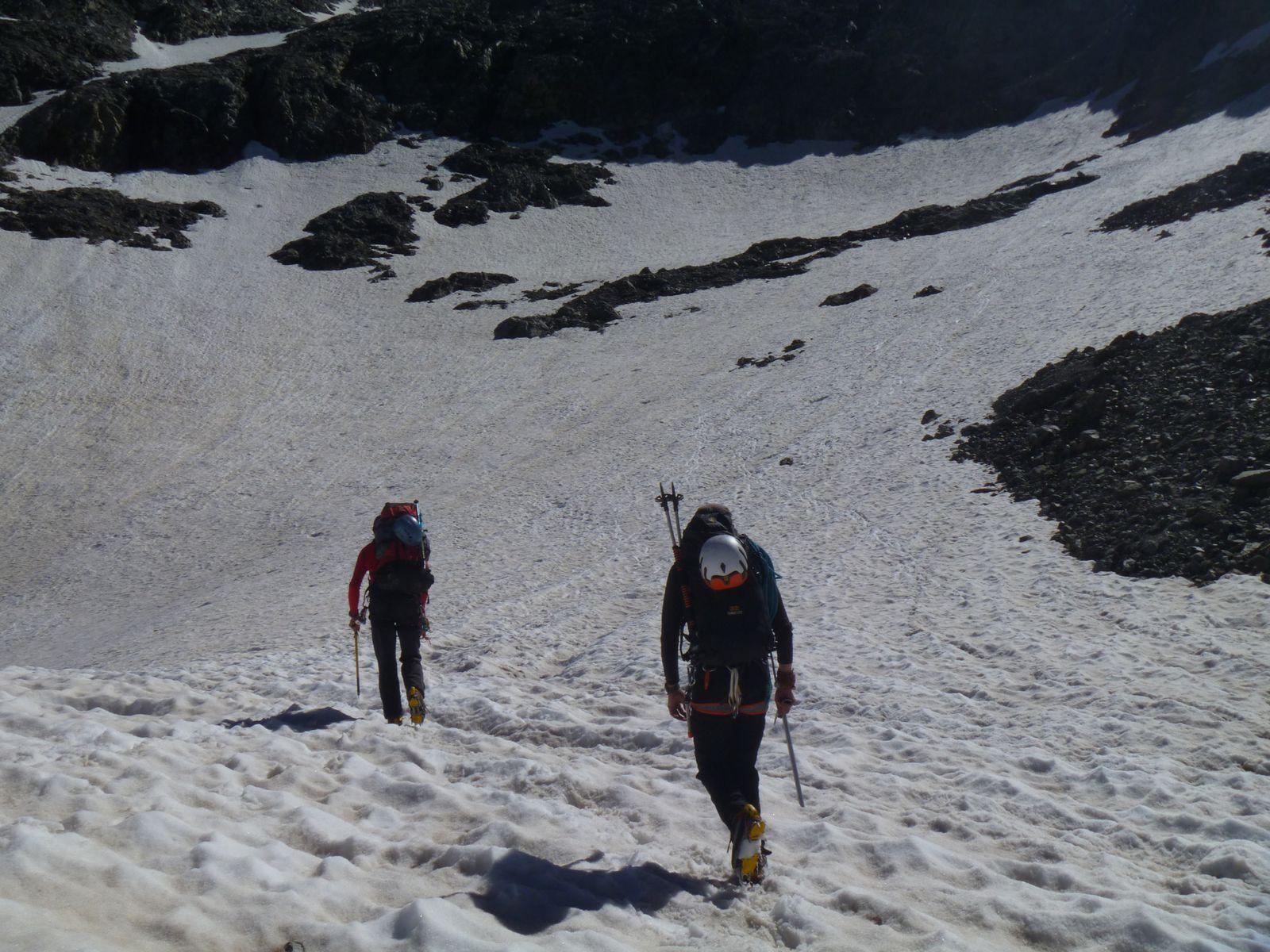 Randonnée Montagne - Glacier du Bec - Refuge de l'Aigle (Ecrins)