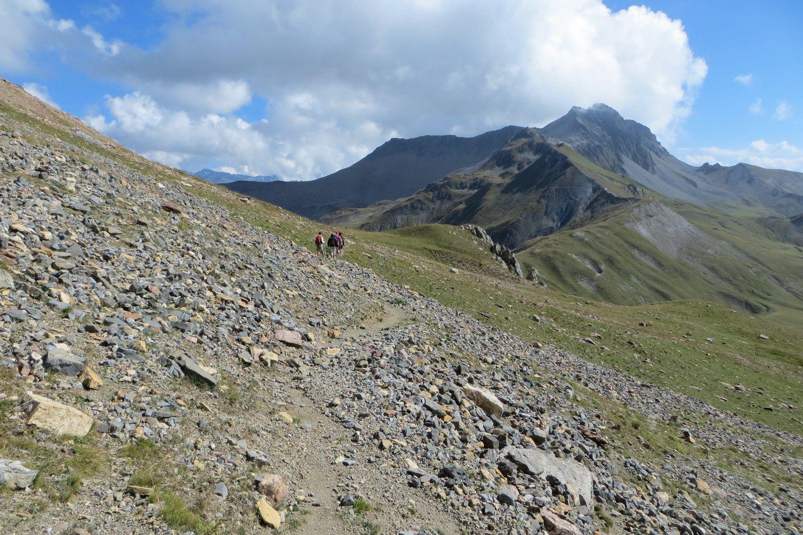 Retour vers le Col du Chatelard