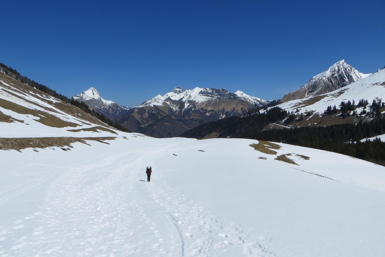 Vallon d'Arclusaz - Mont Trélod - Pointe d'Arcalod - Mont Pécloz
