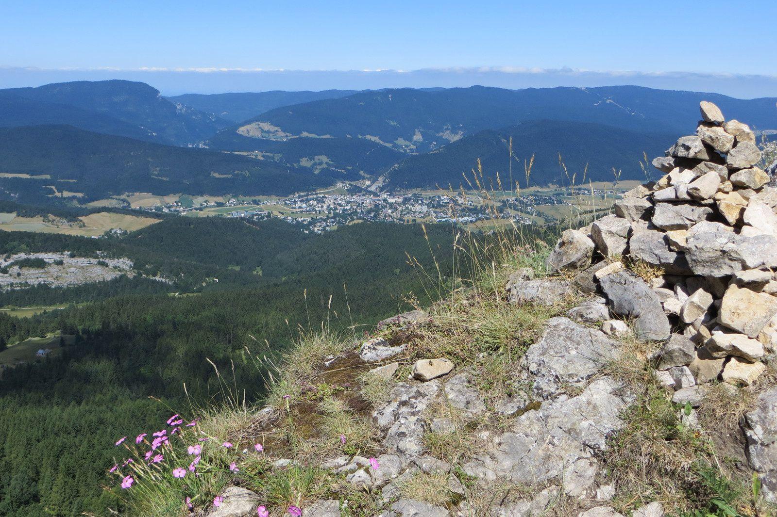 Villard-de-Lans vue du Col