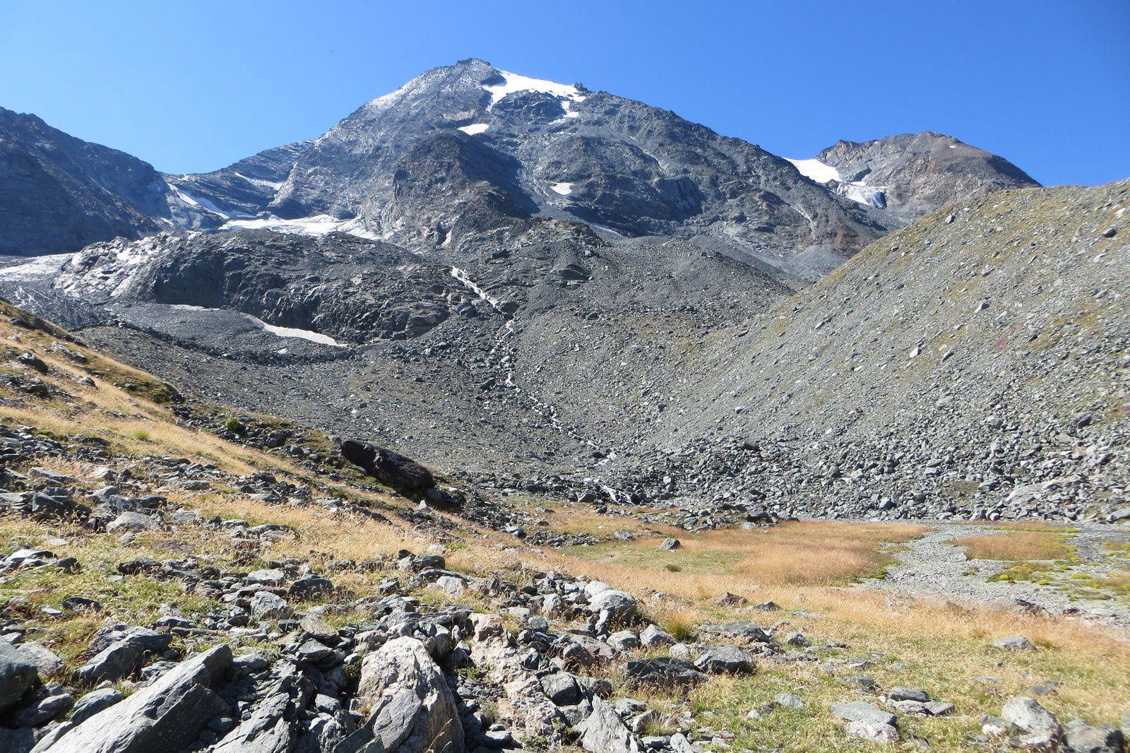 Mont Turia (3645m) et Glacier du Mont Turia