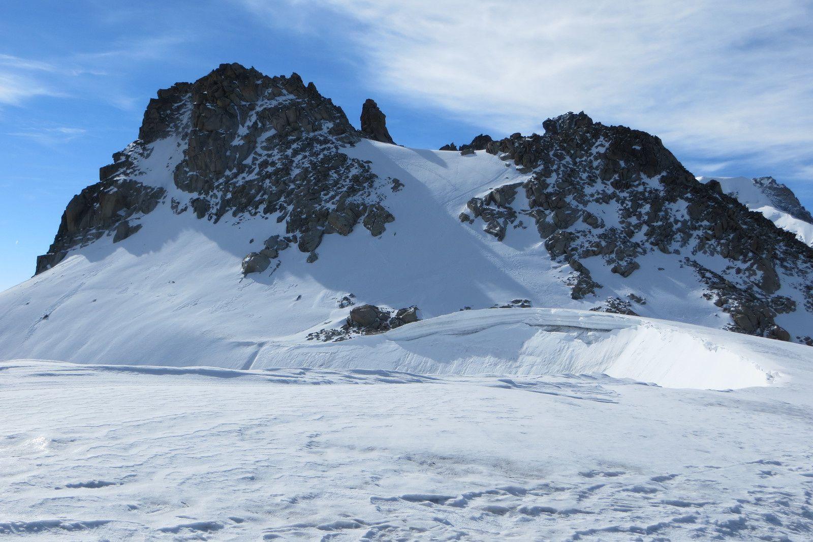 Col Blanc et Petite Fourche 3520m