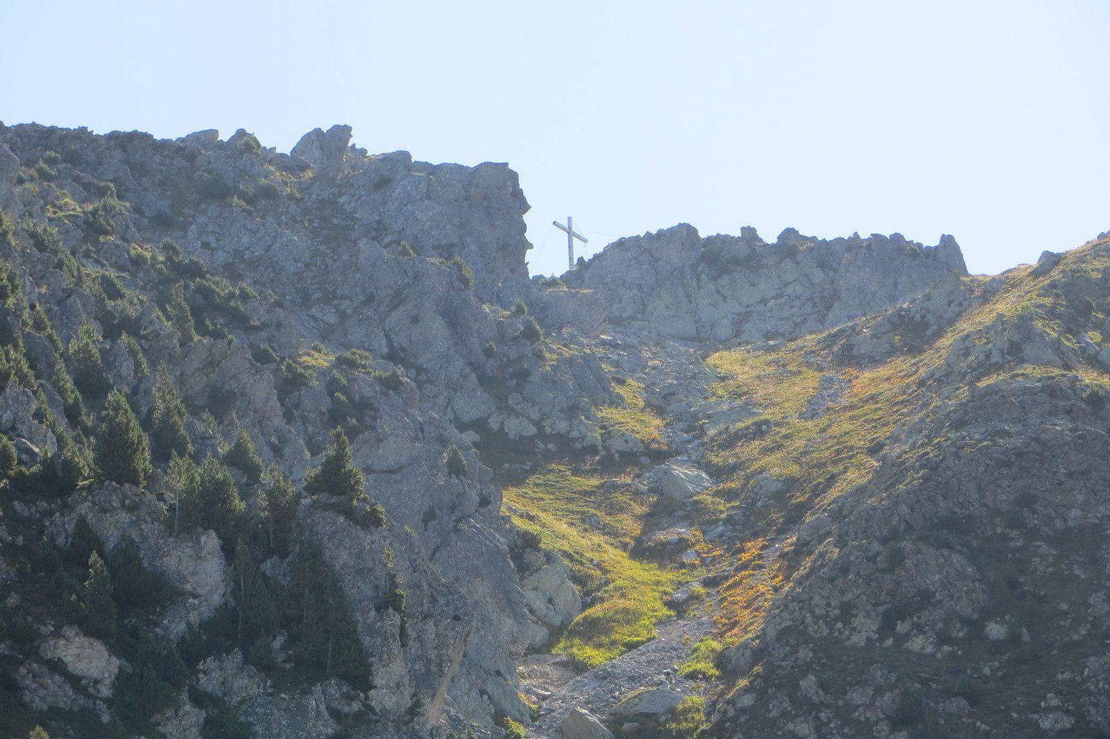 La croix de la Pointe de Rognier