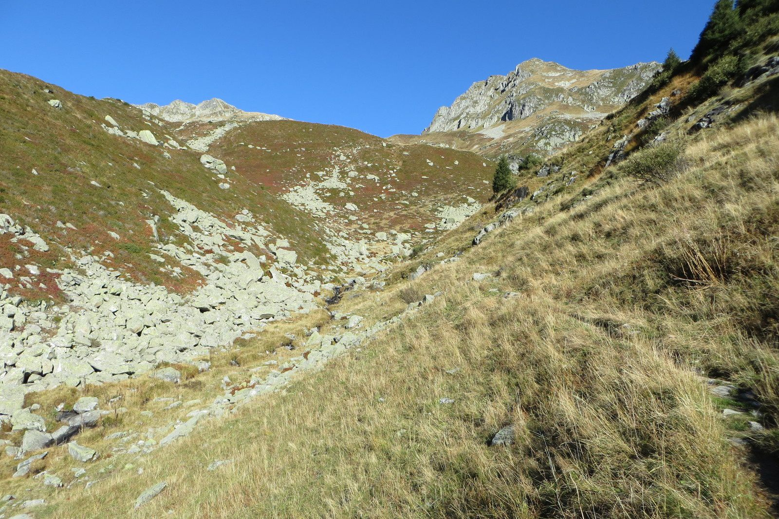 Combe de Bridan et Pointe St Jacques 2531m