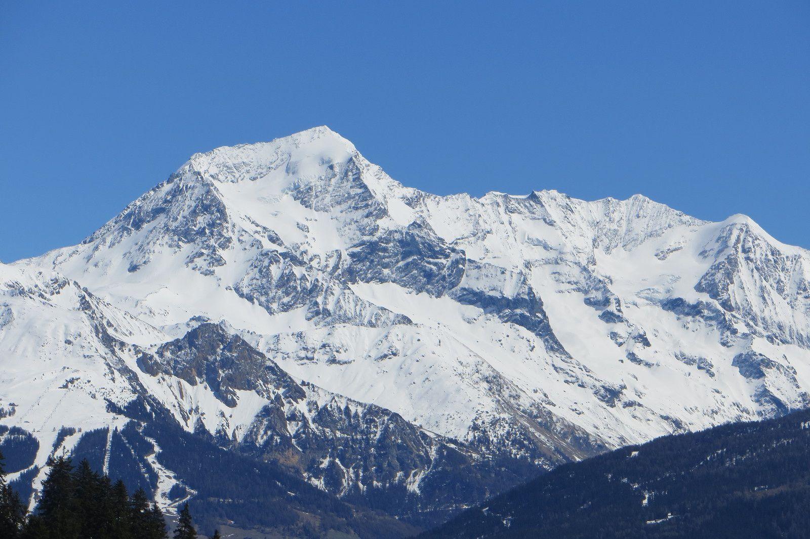 Zoom sur le Mont Pourri