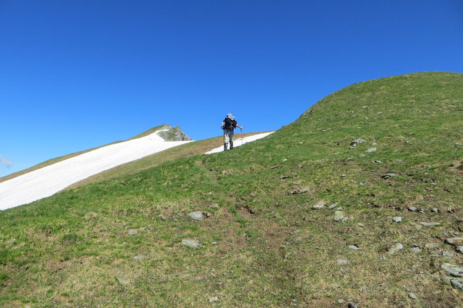 Dernières longueurs avant le sommet