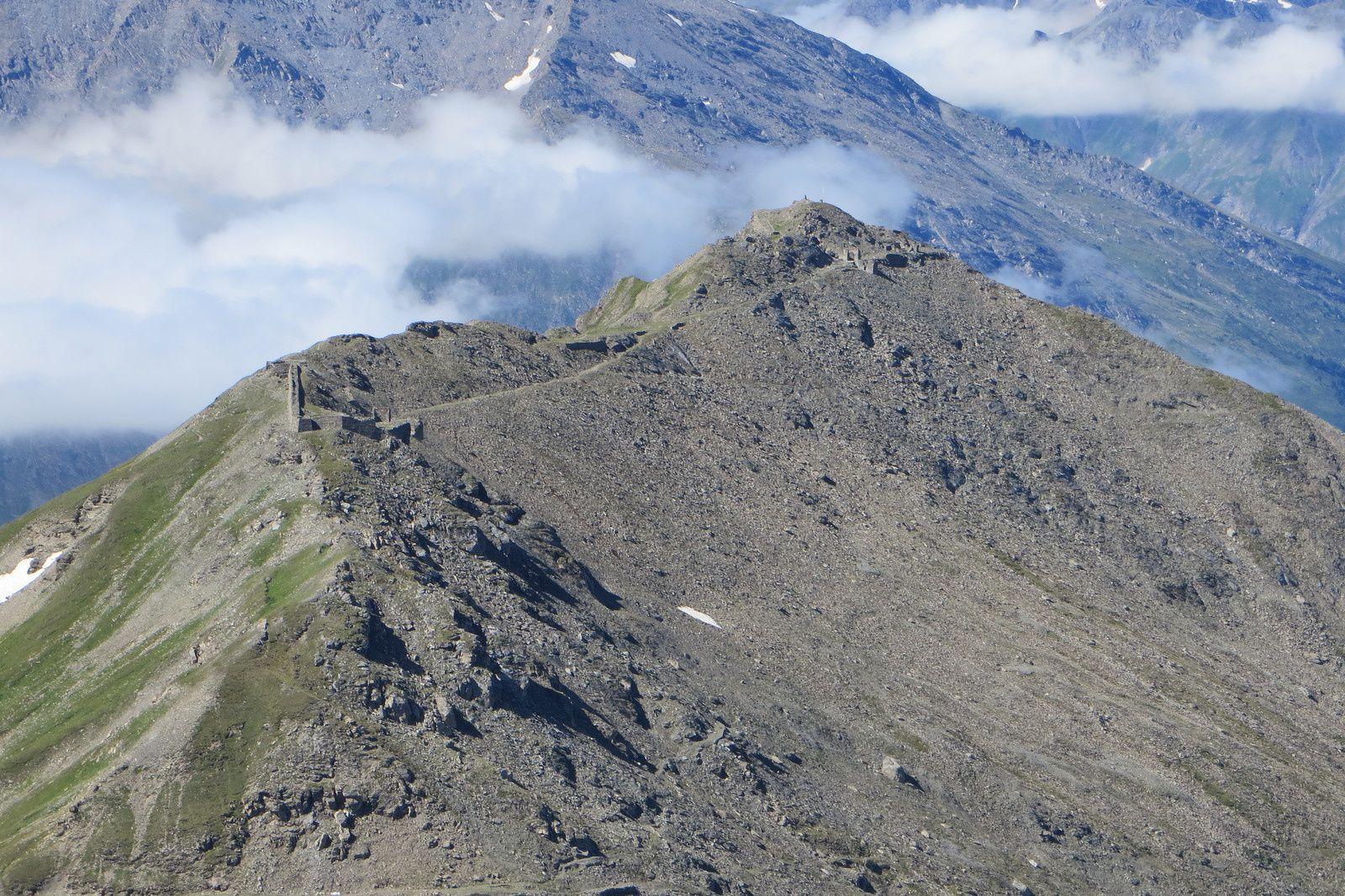 Zoom sur le Mont Froid 2822m