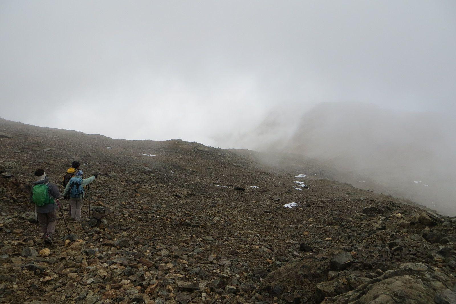 Retour au Col du Grand Van