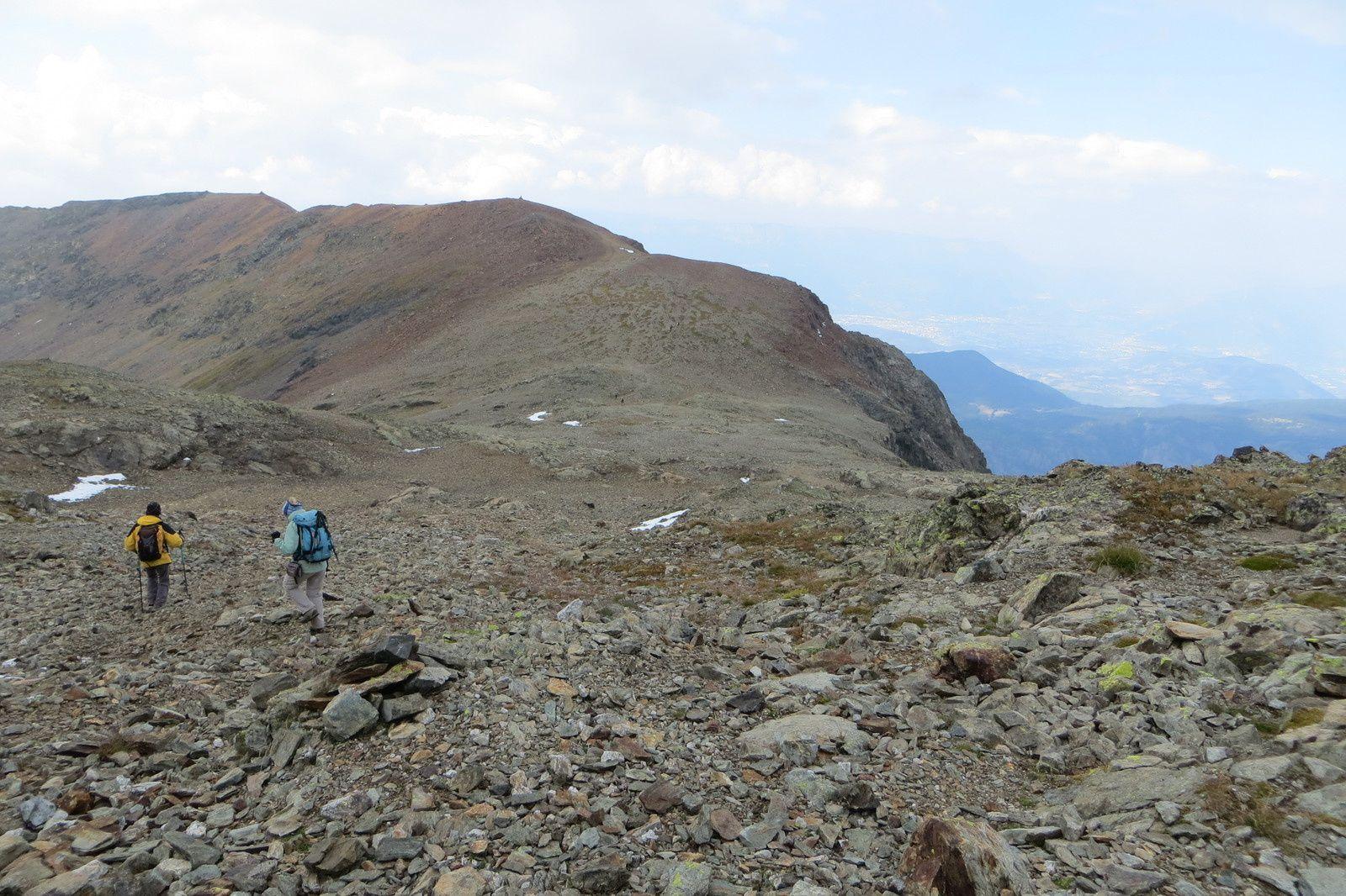 Le Col du Grand Van et l'Arête de Brouffier