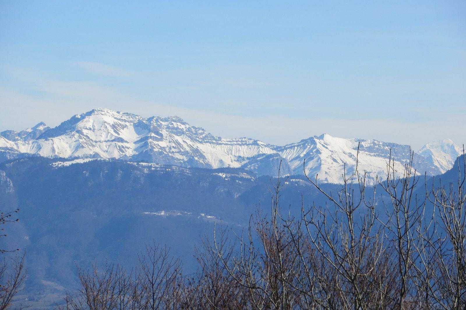 Massif des Bauges (Arcalod - Mont de la Coche - L'Encerclement)